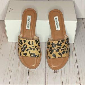 Steve Madden Alexandra Leopard Sandal